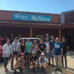 Community school restore volunteers